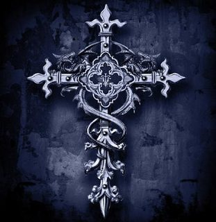 Gothic-cross-pray-faith